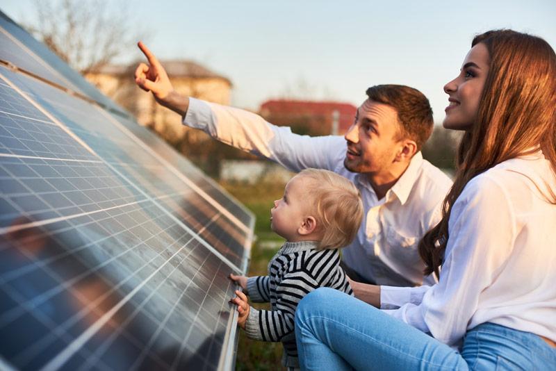Fotowoltaika to efektywne, ekologiczne rozwiązanie zarówno do domu pasywnego, jak i ekologicznego.
