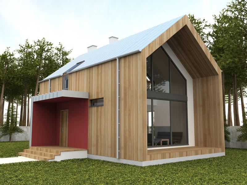 Drewno na elewację – jaki gatunek wybrać i jak zabezpieczyć drewniane wykończenie domu