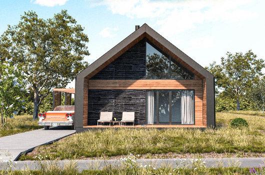Jak ustawić dom na działce, aby obniżyć jego zapotrzebowanie energetyczne