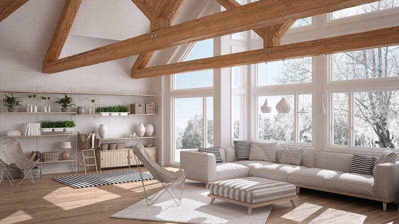 Jakie okna do domu energooszczędnego w stylu stodoły?